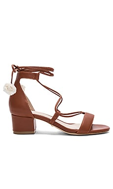 Capri Heel in Whiskey