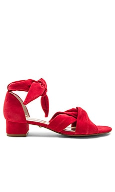 Aurora Sandal in Ruby
