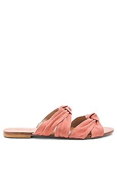 Naomi Sandal in Peach