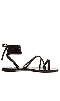 Sadie Gladiator Sandal in Black