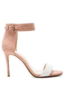 RAYE Betty Heel in Nude & White