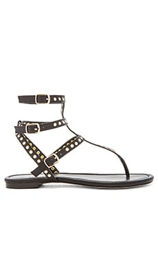 RAYE Sylvie Sandal in Black