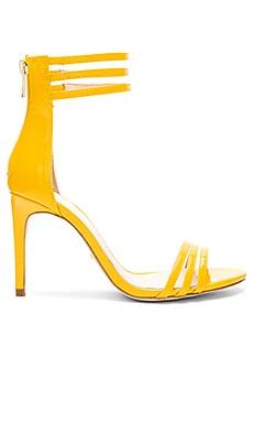 Туфли mona - RAYE, На каблуке, Китай, Желтый  - купить со скидкой