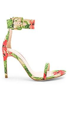 Купить Туфли на каблуке с открытым носком addison - RAYE, На каблуке, Китай, Ivory