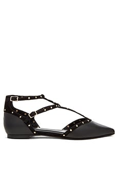 RAYE Penny Flat in Black