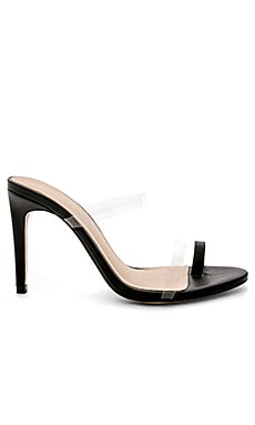 Blanka Heel in Charcoal. - size 5.5 (also in 10,6,6.5,7,7.5,8,8.5,9,9.5) Raye