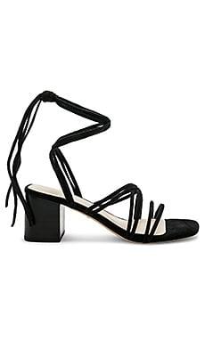 Купить Сандалии на каблуке sybil - RAYE черного цвета