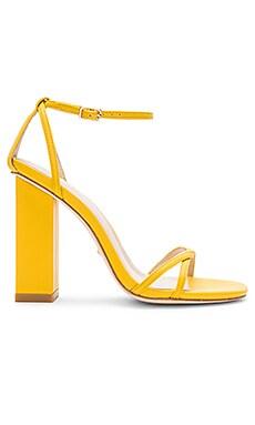 Купить Обувь на каблуке hatty - RAYE желтого цвета