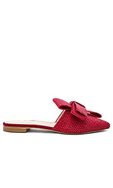 Купить Заостренный носок без каблука vicky - RAYE красного цвета