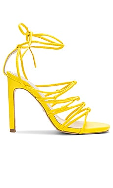 Туфли на каблуке с открытым носком cade - RAYE