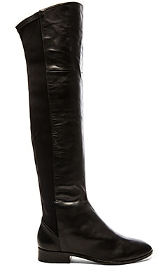 Gia Boot in Black Leather