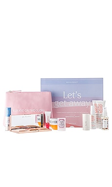 x Marianna Hewitt LET'S GET AWAY Beauty Box REVOLVE Beauty $150