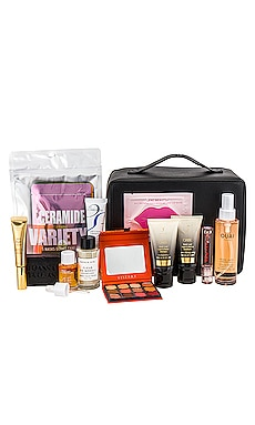 x Shay Mitchell Happy Holi-BEIS Beauty Bag REVOLVE Beauty $120 NEW