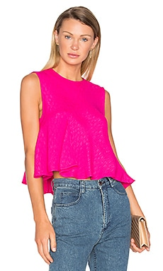 Lovell Top in Hot Pink