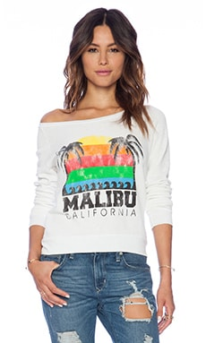 Rebel Yell Malibu Sunset Lil Sis Lounger in White