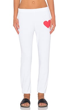 Rebel Yell Love Sweatpant in White