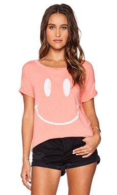Rebel Yell X-Boyfriend Tee in Melon