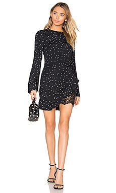 Bella Wrap Dress in Star