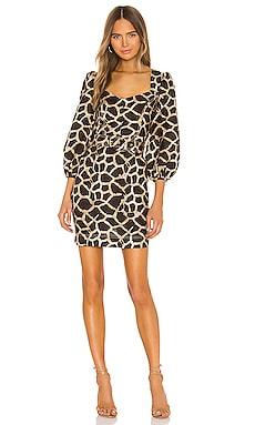 Acacia Long Sleeve Mini Dress Rebecca Vallance $154