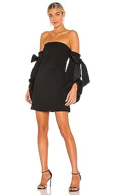 Martini Long Sleeve Mini Dress Rebecca Vallance $280