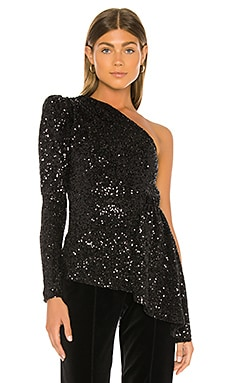 Mica Long Sleeve Top Rebecca Vallance $440