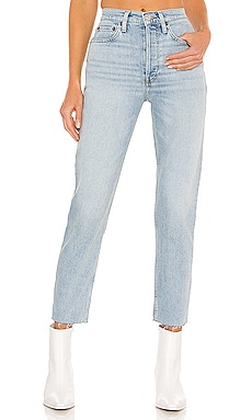 JEAN TAILLE HAUTE CROPPED LONGUEUR CHEVILLE 90S RE/DONE $260 Collections