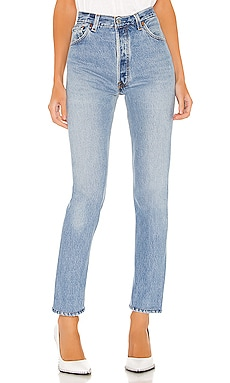 JEAN TAILLE HAUTE RE/DONE $320 BEST SELLER