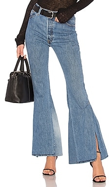 LEVI's High Waisted Slit Jean