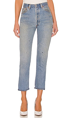 JEAN CROPPED TAILLE HAUTE RE/DONE $325