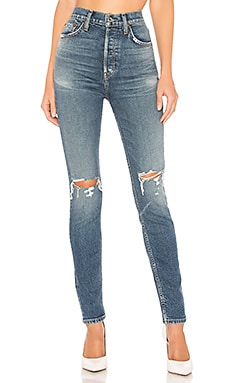 JEAN SKINNY ULTRA HIGH RISE RE/DONE $149