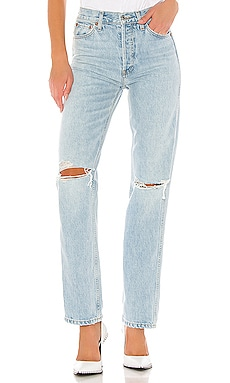 JEAN DROIT LOOSE RE/DONE $295 BEST SELLER