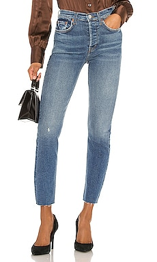 High Rise Ankle Crop RE/DONE $250 NEW ARRIVAL
