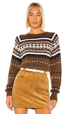 50s Raglan Crew Sweater RE/DONE $450