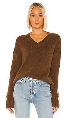 90s Oversized V-Neck Sweater RE/DONE $395