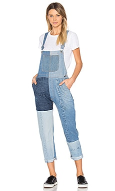 Seamed Overalls in Multi