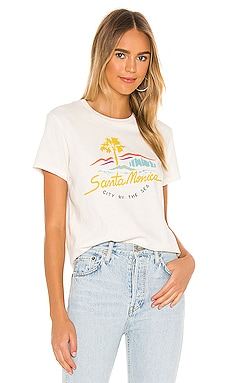 CAMISETA CITY BY THE SEA RE/DONE $145