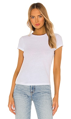 T-SHIRT SLIM 1960'S RE/DONE $90 BEST SELLER