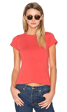 1960's Slim Tee in Vintage Red
