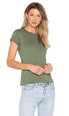 1960's Slim V Tee in Jungle