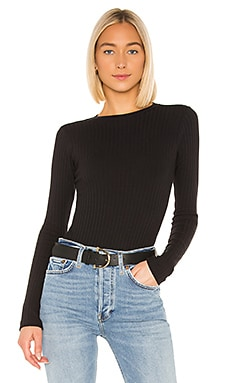 Ribbed Long Sleeve Bodysuit RE/DONE $165
