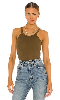 Ribbed Tank RE/DONE $74 NEW ARRIVAL