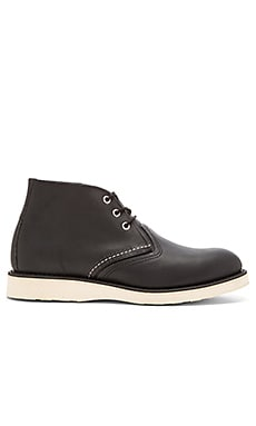 Red Wing Shoes Chukka in Black Harness