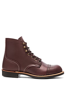 Red Wing Shoes Iron Ranger in Oxblood Mesa