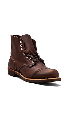 "Iron Ranger 6"" Iron Ranger Red Wing Shoes $320"