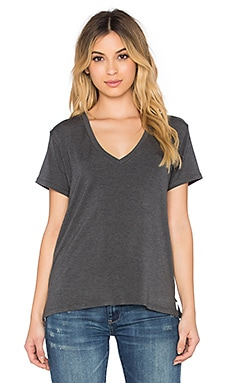 Regalect Barry V Neck Tee in Gray
