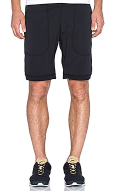 Reigning Champ Stretch Nylon Short in Black