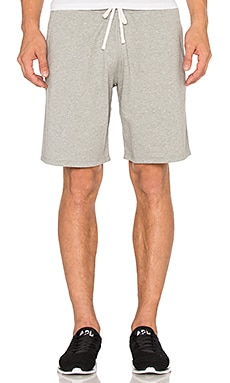 Reigning Champ Core Sweatshort in Heather Grey