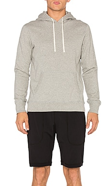 Core Pullover Hoodie in Heather Grey