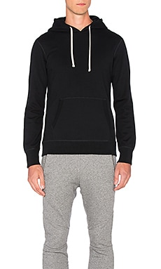 Reigning Champ Core Pullover Hoodie in Black