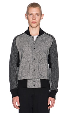 Reigning Champ Varsity Jacket in Grey